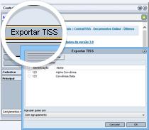 Exportando guias no padrão TISS